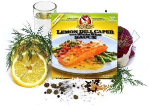 Lemon Dill Caper with White Wine Sauce