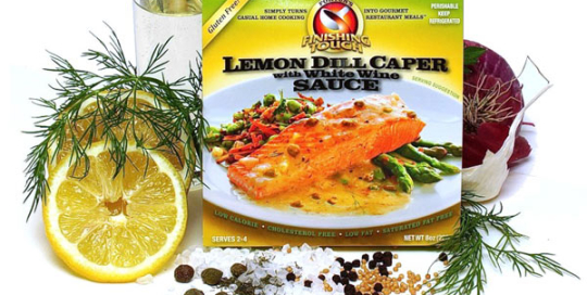 Lemon Dill Caper with White Wine Sauce