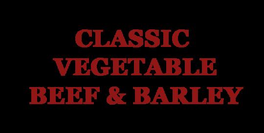 Classic Vegetable Beef & Barley