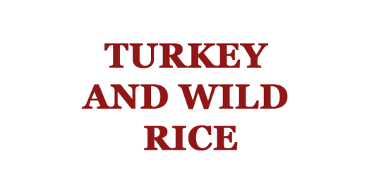 Turkey and Wild Rice