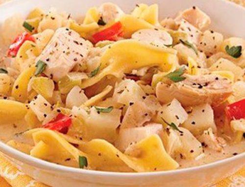 Roasted Chicken Vegetable Noodle