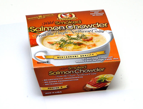 Wild Smoked Salmon Chowder