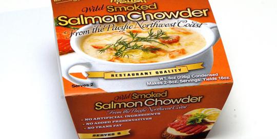 Wild Smoked Wild Salmon Chowder